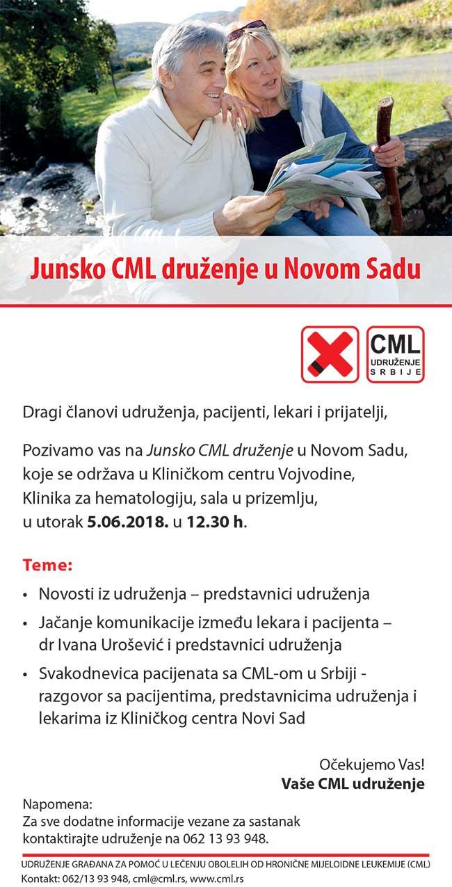 Junsko CML druženje u Novom Sadu