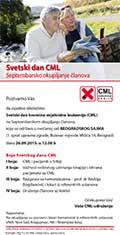 Septembarsko okupljanje članova – Svetski dan CML-a