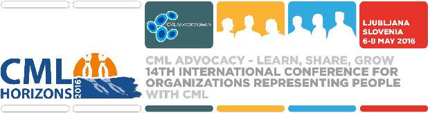 Predstavnici našeg udruženja na CML Horizontima 2016 u Ljubljani (logo skupa)